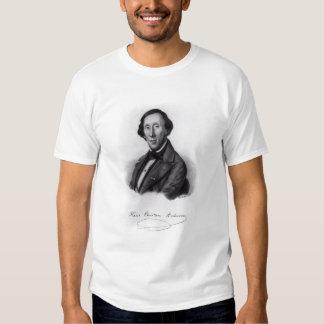 Portrait of Hans Christian Andersen Tee Shirt