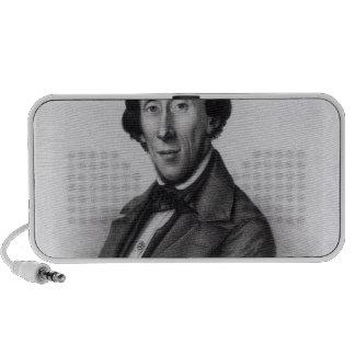 Portrait of Hans Christian Andersen Travelling Speakers