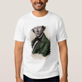 Portrait of Hans Christian Andersen Tshirts