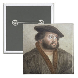 Portrait of Hans Holbein (1497/8-1543) engraved by Button