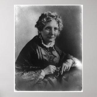 Portrait of Harriet Beecher Stowe Poster