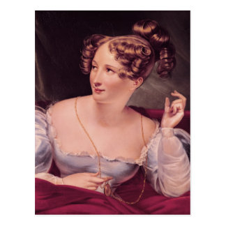 Portrait of Harriet Smithson Postcard