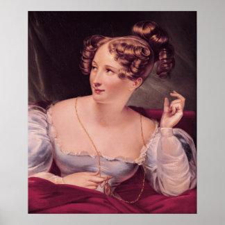Portrait of Harriet Smithson Poster