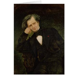 Portrait of Hector Berlioz Card