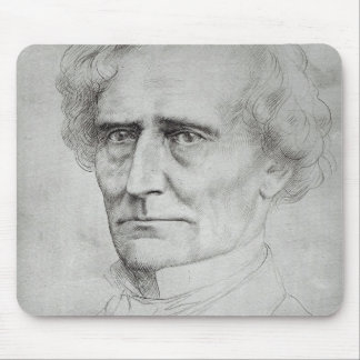 Portrait of Hector Berlioz Mouse Pad