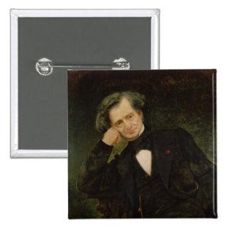 Portrait of Hector Berlioz Pinback Button
