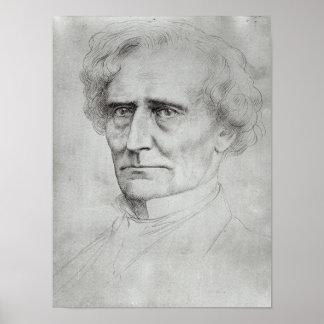 Portrait of Hector Berlioz Poster