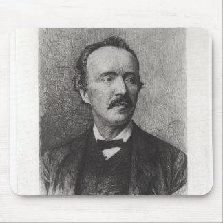 Portrait of Heinrich Schliemann Mouse Pad