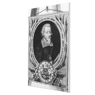 Portrait of Heinrich Schutz Canvas Print