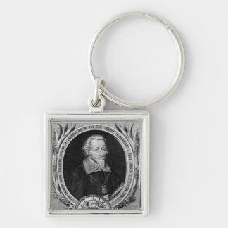 Portrait of Heinrich Schutz Key Chain