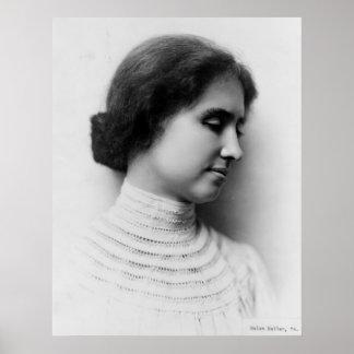 Portrait of Helen Keller Poster