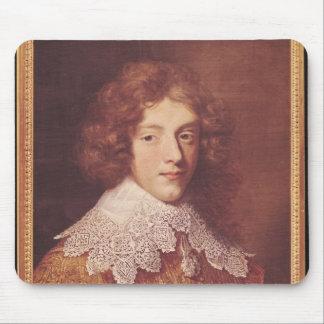 Portrait of Henri Coeffier de Ruze d'Effiat Mouse Pad