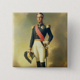 Portrait of Henri-Eugene-Philippe-Louis Pinback Button