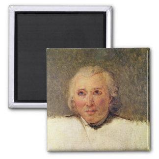 Portrait of Henri Gregoire 2 Inch Square Magnet