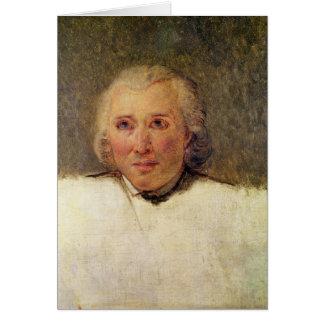 Portrait of Henri Gregoire Card