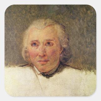 Portrait of Henri Gregoire Square Sticker