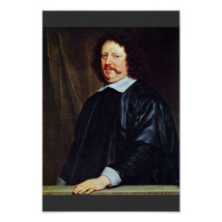 Portrait Of Henri Groulart By Champaigne Philippe Posters