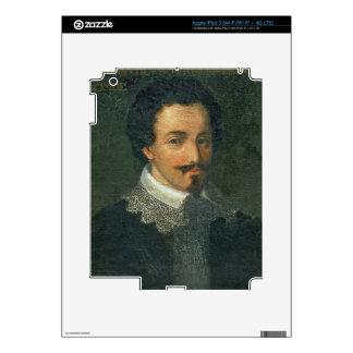 Portrait of Henri I de Bourbon Conde (oil on panel Skin For iPad 3