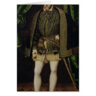 Portrait of Henri II Card