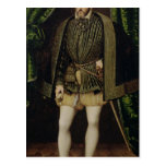 Portrait of Henri II Postcard