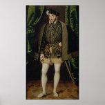 Portrait of Henri II Poster