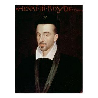 Portrait of Henri III Postcard