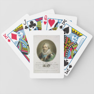 Portrait of Henri IV, King of France and Navarre ( Bicycle Playing Cards