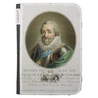Portrait of Henri IV, King of France and Navarre ( Kindle Cover