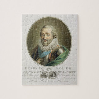 Portrait of Henri IV, King of France and Navarre ( Jigsaw Puzzle
