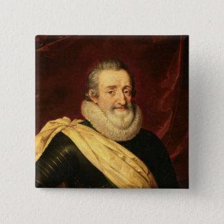 Portrait of Henri IV  King of France Pinback Button