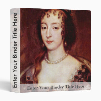 Portrait Of Henrietta Of France Queen Of England Binders