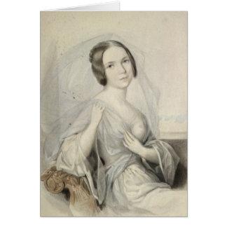 Portrait of Henriette Gertrude Sontag Card