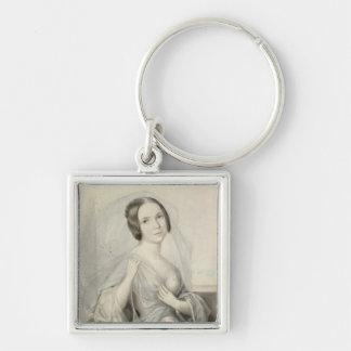 Portrait of Henriette Gertrude Sontag Keychain