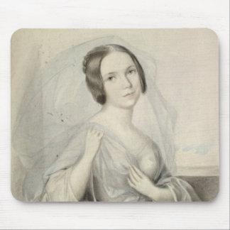 Portrait of Henriette Gertrude Sontag Mouse Pad
