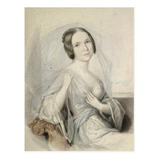 Portrait of Henriette Gertrude Sontag Postcard