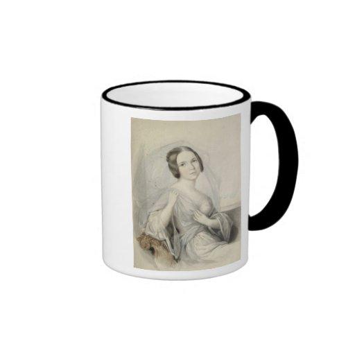 Portrait of Henriette Gertrude Sontag Ringer Mug
