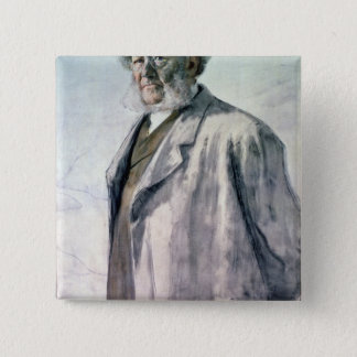 Portrait of Henrik Ibsen, 1895 Button