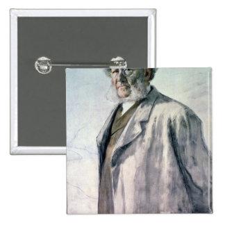 Portrait of Henrik Ibsen, 1895 Button