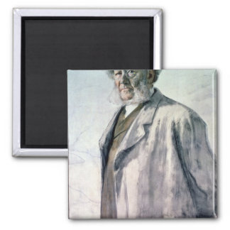 Portrait of Henrik Ibsen, 1895 Fridge Magnet