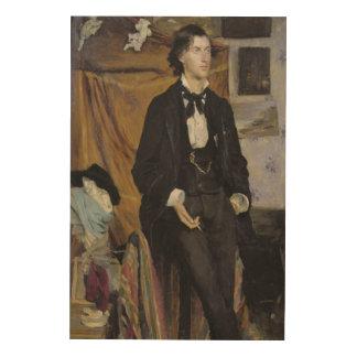 Portrait of Henry Davison, 1880 Wood Wall Art