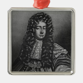 Portrait of Henry Duke of Grafton Metal Ornament