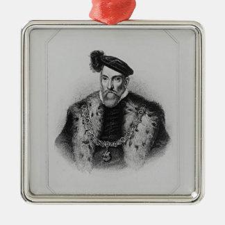 Portrait of Henry Fitzalan, 12th Earl of Metal Ornament