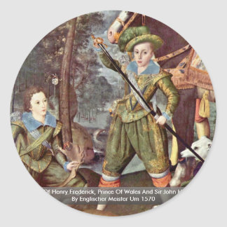 Portrait Of Henry Frederick, Prince Of Wales Stickers