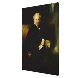 Portrait of Henry Fuseli Canvas Print