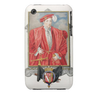 Portrait of Henry Howard (c.1517-47) Earl of Surre Case-Mate iPhone 3 Cases