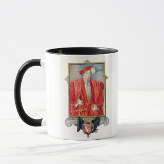 Portrait of Henry Howard (c.1517-47) Earl of Surre Mug