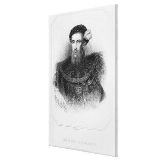 Portrait of Henry Howard  Earl of Surrey Canvas Print