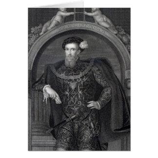 Portrait of Henry Howard  Earl of Surrey Card