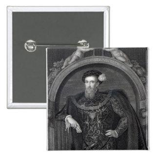 Portrait of Henry Howard  Earl of Surrey Pinback Button