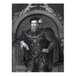 Portrait of Henry Howard  Earl of Surrey Postcard